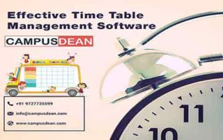 CAMPUSDEAN Effective Time Table Management Software