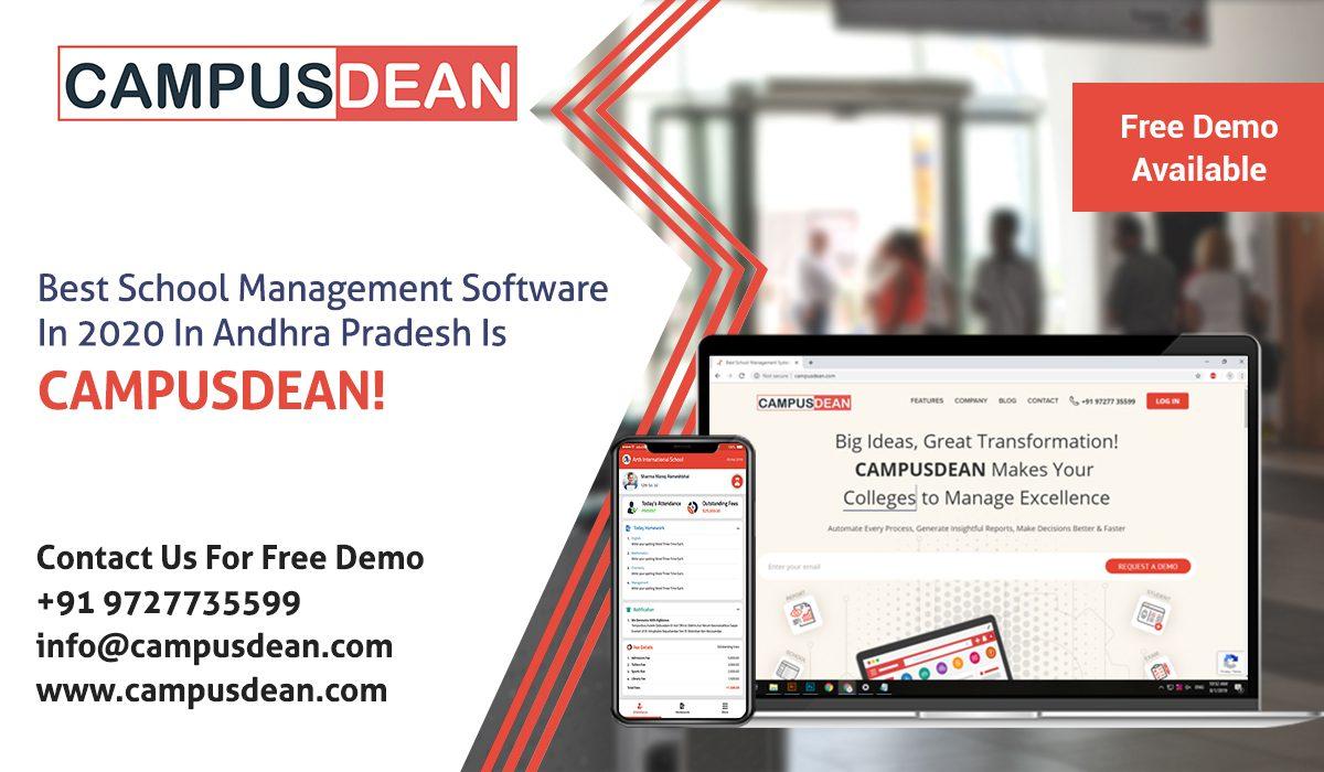 Best School Management Software Andhra Pradesh