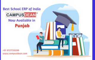 Best School ERP of India - CAMPUSDEAN Now Available in Punjab