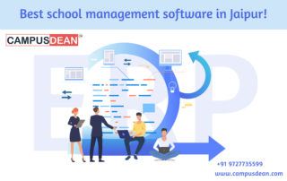 CAMPUSDEAN best school management software in Jaipur
