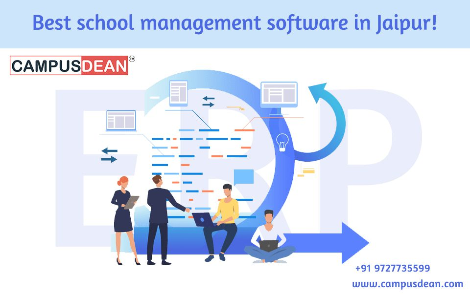 Best school management software in Jaipur!