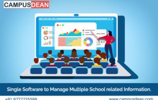 CAMPUSDEAN is single school software is manage multiple school