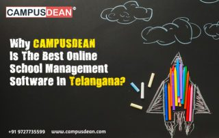 CAMPUSDEAN is the best online school management software in telangana
