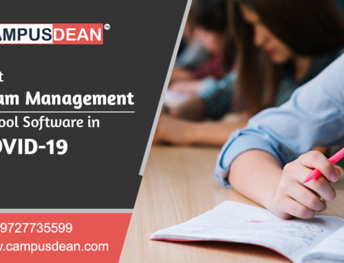 CAMPUSDEAN Best Exam Management School Software in COVID-19
