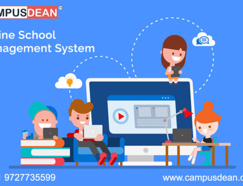 Online School Management System Manage School Activities During COVID-19